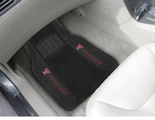 Texas Tech Red Raiders 2-Piece Deluxe Car Mats