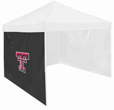 Texas Tech Red Raiders Black Side Panel for Logo Tents