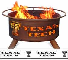 Texas Tech Red Raiders Outdoor Fire Pit