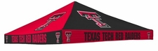 Texas Tech Red Raiders Red / Black Checkerboard Logo Tent Replacement Canopy