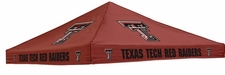 Texas Tech Red Raiders Red Logo Tent Replacement Canopy