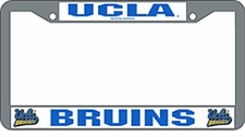ucla bruins chrome license plate frame