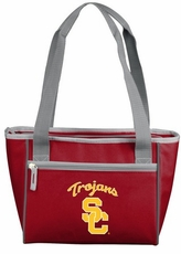 USC Trojans 16 Can Cooler Tote