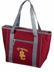 USC Trojans 30 Can Cooler Tote