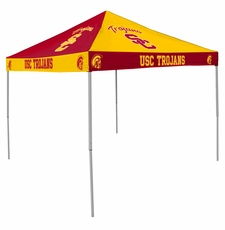 USC Trojans Cardinal Red / Gold Checkerboard Logo Canopy Tailgate Tent