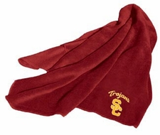 USC Trojans Fleece Throw (Red)