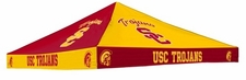 USC Trojans Red / Gold Checkerboard Logo Tent Replacement Canopy
