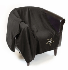 Vanderbilt Commodores Sweatshirt Throw Blanket