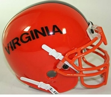 Virginia Cavaliers 1975-76 Schutt Throwback Mini Helmet