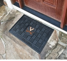 Virginia Cavaliers 19x30 Medallion Door Mat