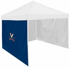 Virginia Cavaliers Navy Side Panel for Logo Tents