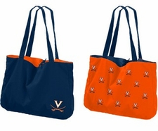 Virginia Cavaliers Reversible Tote Bag