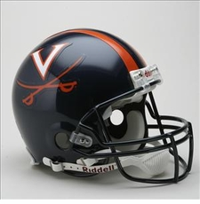 Virginia Cavaliers Riddell Pro Line Authentic Helmet
