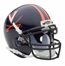 Virginia Cavaliers Schutt Authentic Mini Helmet