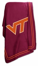 Virginia Tech Hokies Classic Fleece Blanket