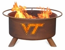 Virginia Tech Hokies Outdoor Fire Pit