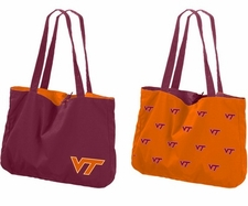 Virginia Tech Hokies Reversible Tote Bag