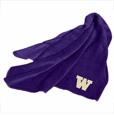 Washington Huskies Fleece Throw