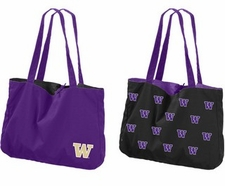 Washington Huskies Reversible Tote Bag