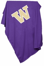 Washington Huskies Sweatshirt Blanket