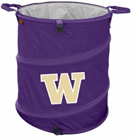 Washington Huskies Tailgate Trash Can / Cooler / Laundry Hamper