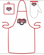 Washington Nationals Cooking / Grilling Apron Set