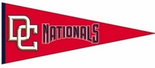 Washington Nationals Traditions Wool Pennant
