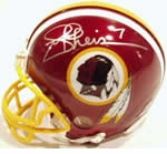 Washington Redskins Autographed Football Gear