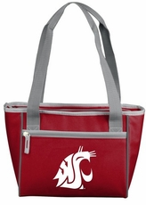 Washington State Cougars 16 Can Cooler Tote