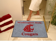 """Washington State Cougars 34""""x45"""" All-Star Floor Mat"""