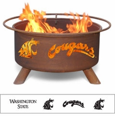Washington State Cougars Outdoor Fire Pit