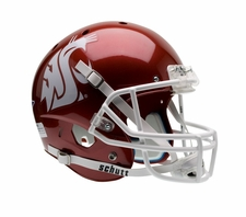 Washington State Cougars Red Schutt XP Full Size Replica Helmet