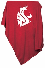 Washington State Cougars Sweatshirt Blanket