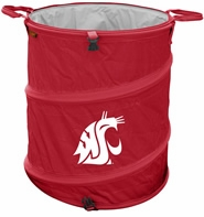 Washington State Cougars Tailgate Trash Can / Cooler / Laundry Hamper