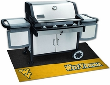 West Virginia Mountaineers 26x42 Grill Mat