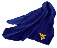 West Virginia Mountaineers Fleece Throw