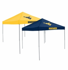 West Virginia Mountaineers Home / Away Reversible Logo Tailgate Tent