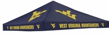 West Virginia Mountaineers Navy Logo Tent Replacement Canopy