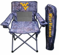 West Virginia Mountaineers Realtree Camo Mesh Chair