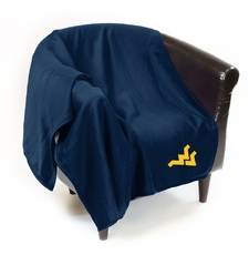 West Virginia Mountaineers Sweatshirt Throw Blanket