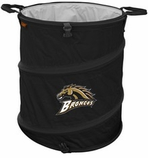 Western Michigan Broncos Tailgate Trash Can / Cooler / Laundry Hamper