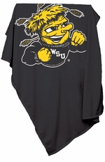 Wichita State Shockers Sweatshirt Blanket