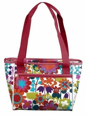 Wildflower 16 Can Cooler Tote