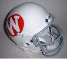 Wisconsin Badgers 1972 Schutt Throwback Mini Helmet