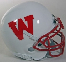 Wisconsin Badgers 1988-89 Schutt Throwback Mini Helmet