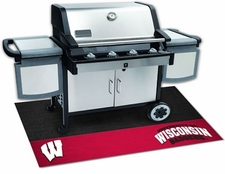 Wisconsin Badgers 26x42 Grill Mat