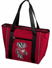 Wisconsin Badgers 30 Can Cooler Tote