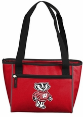 Wisconsin Badgers 8 Can Cooler Tote