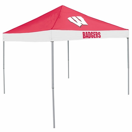 Wisconsin Badgers Economy 2-Logo Logo Canopy Tailgate Tent