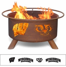 Wisconsin Badgers Outdoor Fire Pit